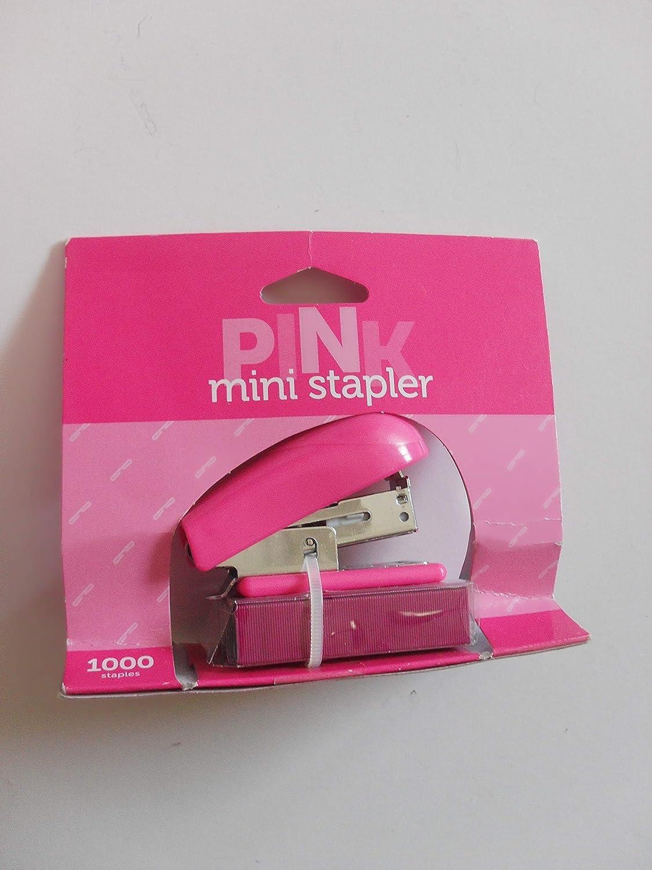 Office Depot Brand Mini Stapler, Pink