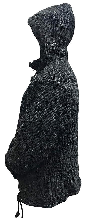 SHOPOHOLIC FASHION Uomo Tasca a Marsupio Giacca di Lana  Amazon.it   Abbigliamento 690f8d96496