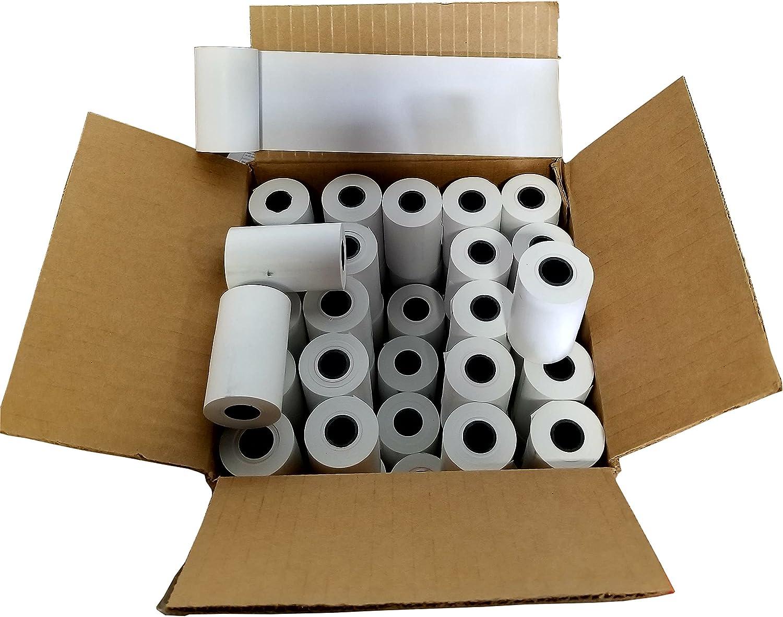 50 Rolls BioBon-500 Bladder Scanner 2 1//4 x 50 Themal Paper