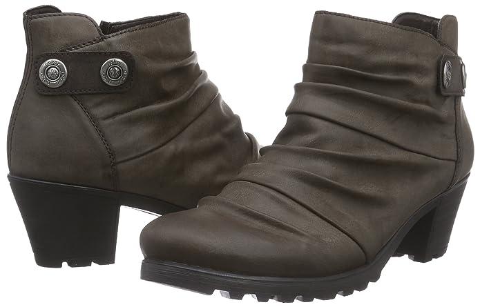 Rieker Y8063 01 Damen Halbschaft Stiefel