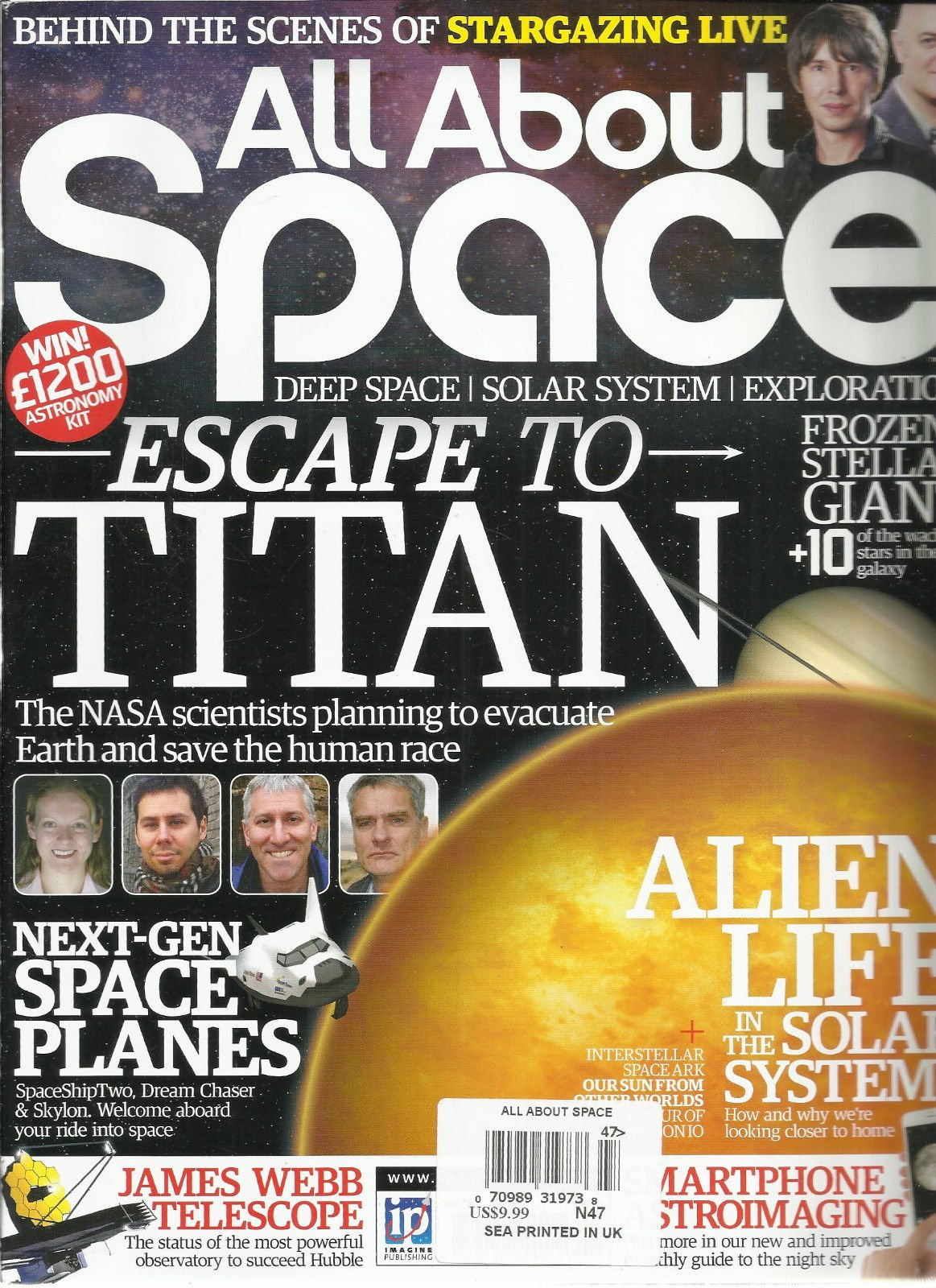 ALL ABOUT SPACE, NO.47 (DEEP SPACE SOLAR SYSTEM EXPLORATION * ESCAPE TO TITAN