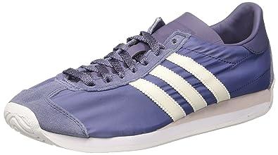 premium selection ae1eb 229bc adidas Country OG Baskets Basses Femme, Violet (Super PurpleOff FTWR White)