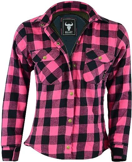BULLDT Camisa de mujer para moto