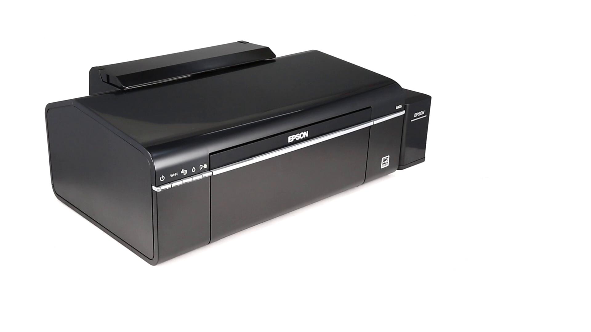 Epson L805 Single-Function Wireless Ink Tank Colour Photo Printer