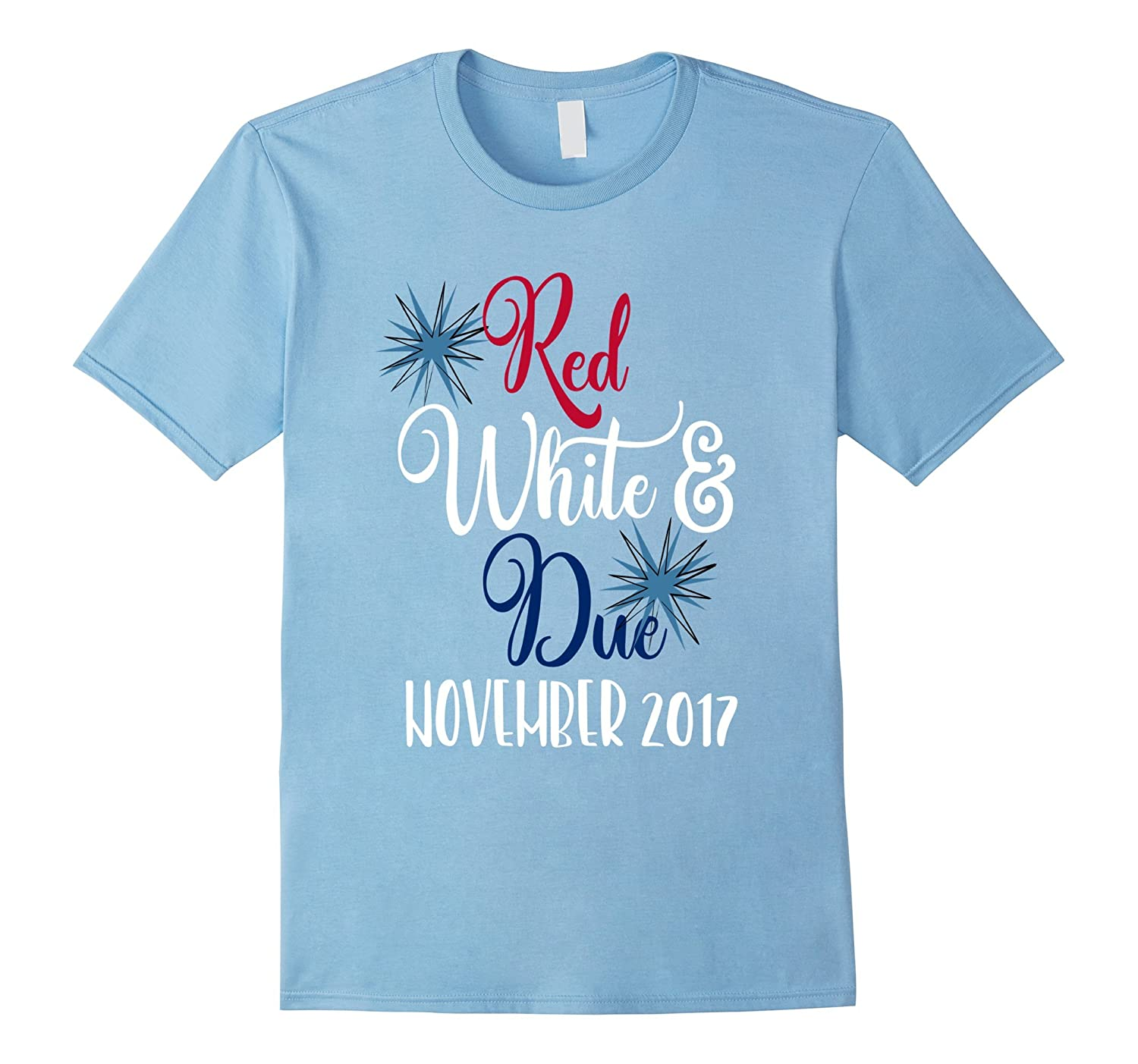 July 4th Maternity Shirt Red White  Due November 2017-PL