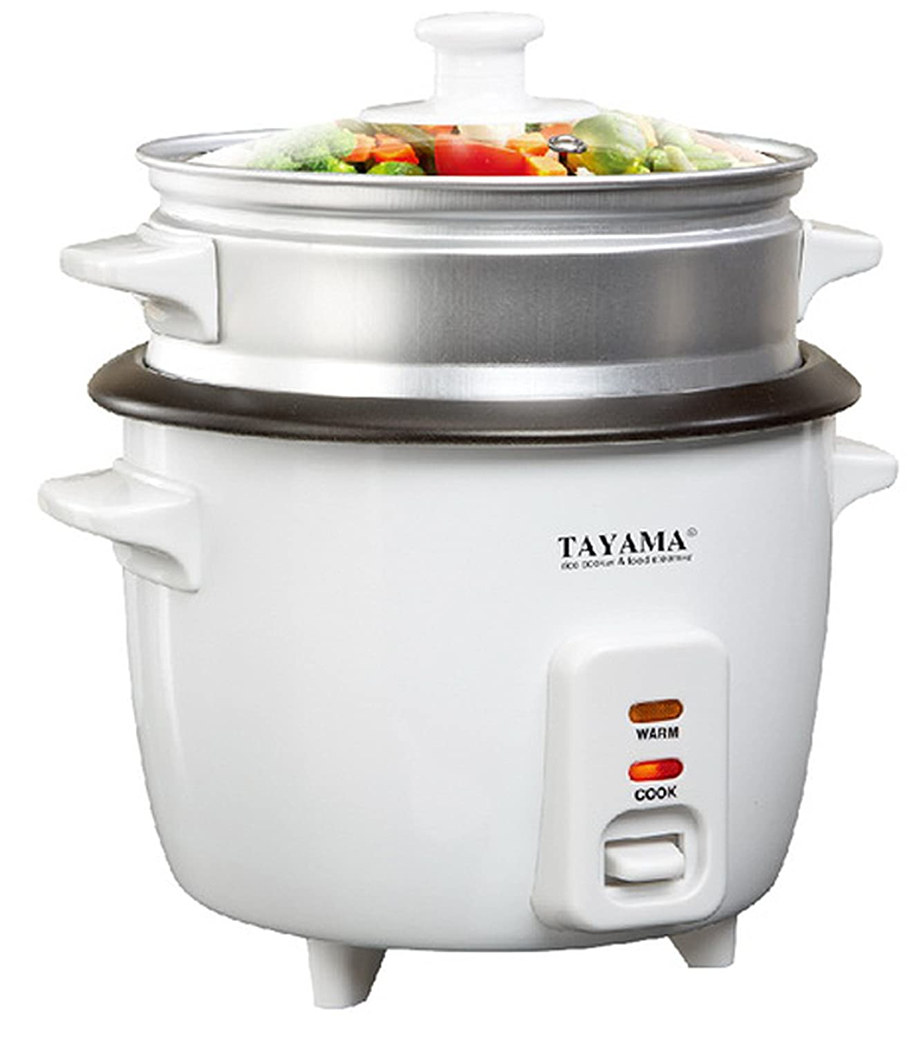 Vegetable Steamers Walmart ~ Reg white tayama rice cooker with cup