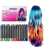 anngrowy Hair Chalk for Girls Kids Face Paint
