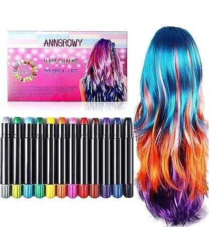 Amazon.com: anngrowy - Tizas para el pelo, regalos de ...