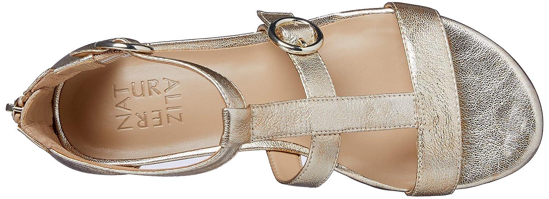 c158a7b80cf6 Amazon.com  Naturalizer Women s Mabel Flat Sandal  Naturalizer  Shoes