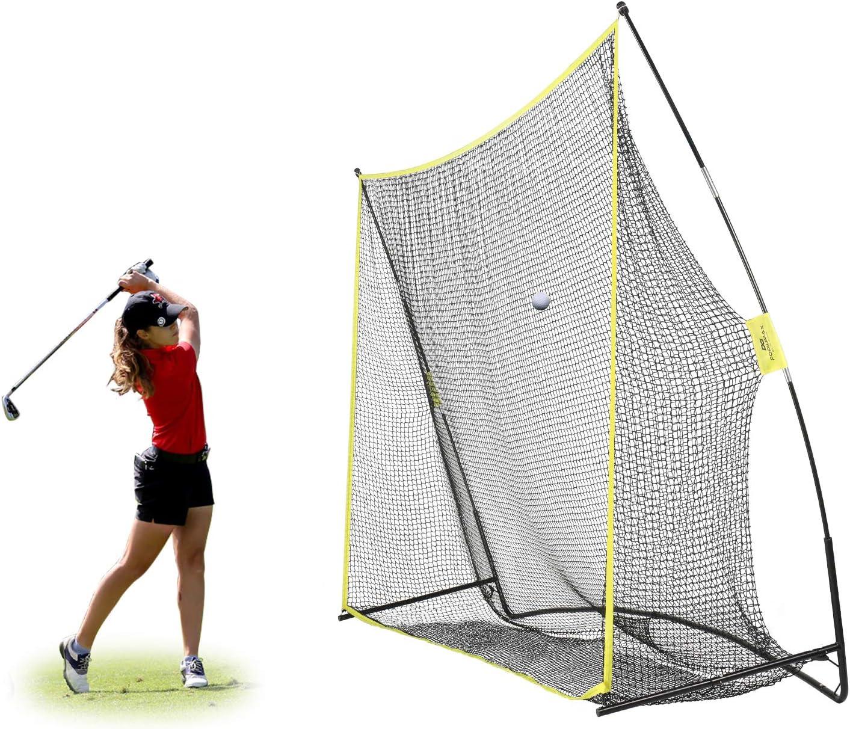 Amazon.com : PodiuMax 10x7ft Golf Hitting Net   Driving Range for Backyard  & Indoor   Also Suitable for Soccer, Baseball, Softball Practice : Sports &  Outdoors