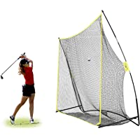 PodiuMax 10x7ft Golf Hitting Net | Driving Range for Backyard & Indoor | Also Suitable for Soccer, Baseball, Softball Practice
