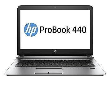 """HP ProBook 440 G3 2.3GHz i3-6100U 14"""" Negro, Plata - Ordenador"""
