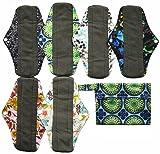 7pcs Set 1pc Mini Wet Bag +6pcs 10 Inch Regular