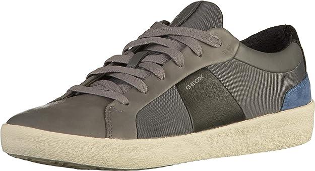 Geox U Warley B Sneakers Herren Schwarz Stone Black
