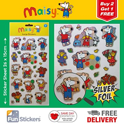 Maisy Stickers Large 2001: Kitchen & Dining