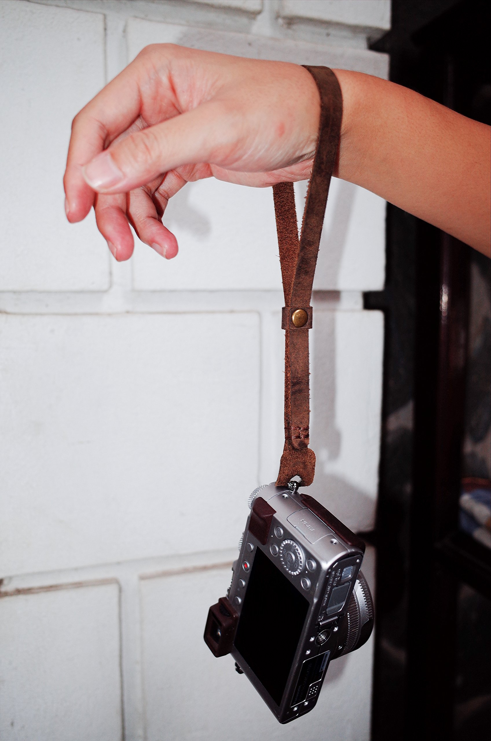 Henri by Eric Kim Handmade Premium Leather Camera Wrist Strap by Eric Kim Photography (Image #6)