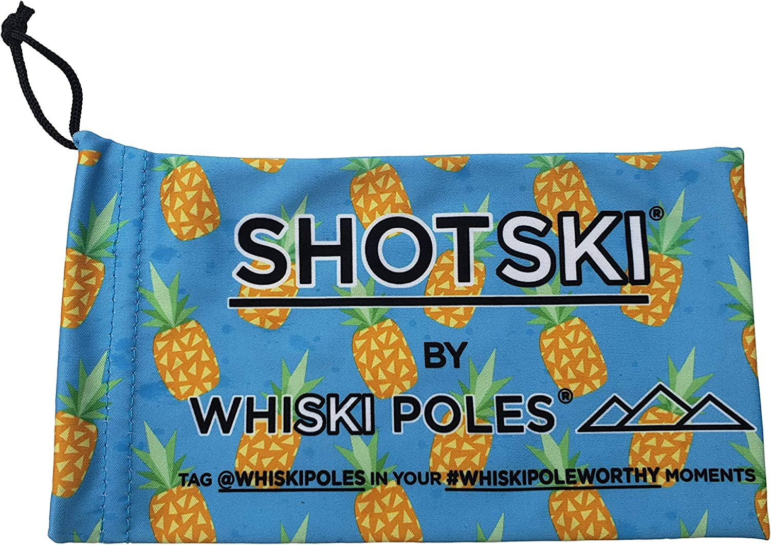 shatterproof Shot Glasses Removable 6 Pack Official SHOTSKI Kit no Tools Required Instantly Turn Your Everyday Gear into a Shot ski Apres Ski Gift installs in Seconds