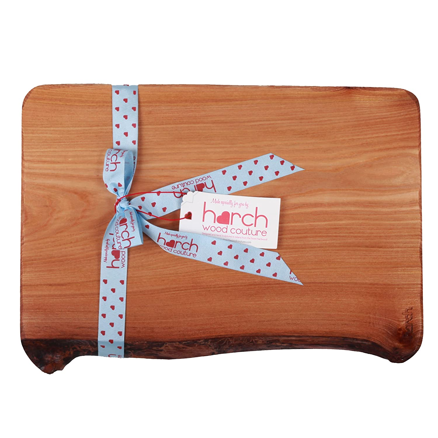 Harch Wood Couture Designer Chopping Serving Display Board, Wood, Medium/Dark Wood COAS-AE