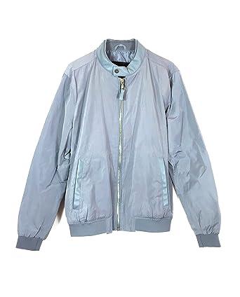 62f5e547 Zara Men's Bomber Jacket Contrasting Collar 0706/310: Amazon.co.uk ...