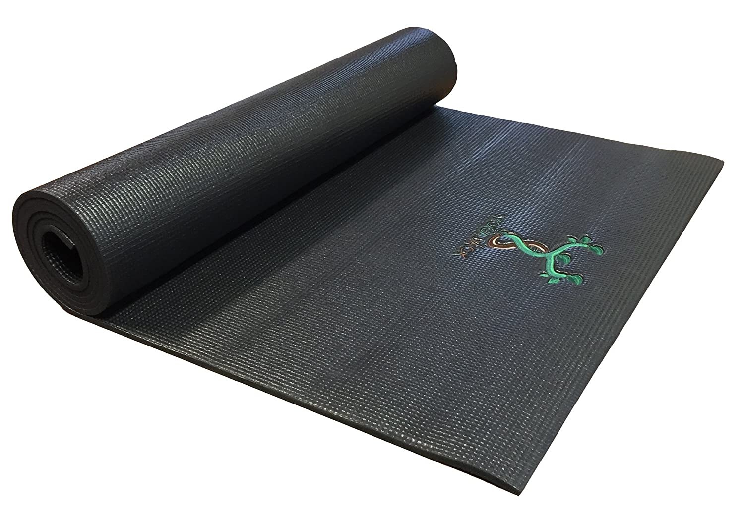 Amazon.com : YogaJack BlackJack 74in Yoga Mat : Sports ...