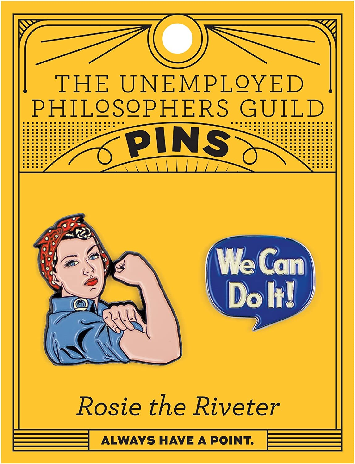 Pin Set UPG Rosie and We Can Do It 5098