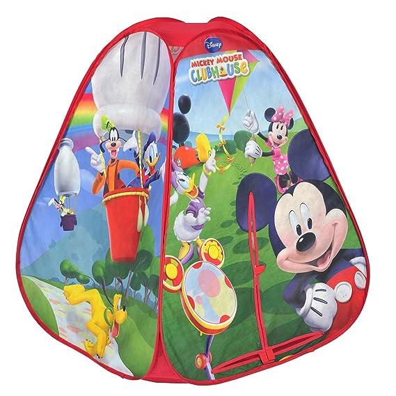 Knorr Mickey Mouse - Tienda de campaña (KNORRTOYS.COM): Amazon.es: Juguetes y juegos