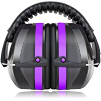 Fnova 34dB Highest NRR Safety Ear Muffs - Professional Ear Defenders for Shooting, Adjustable Headband Ear Protection…