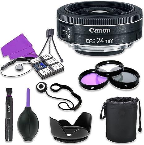 Canon EF-Sa - Lente para cámaras réflex Digitales Canon (24 mm f/2 ...