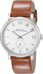 Marc by Marc Jacobs Women's MBM1265 Baker Silver-Tone Stainless Steel Watch