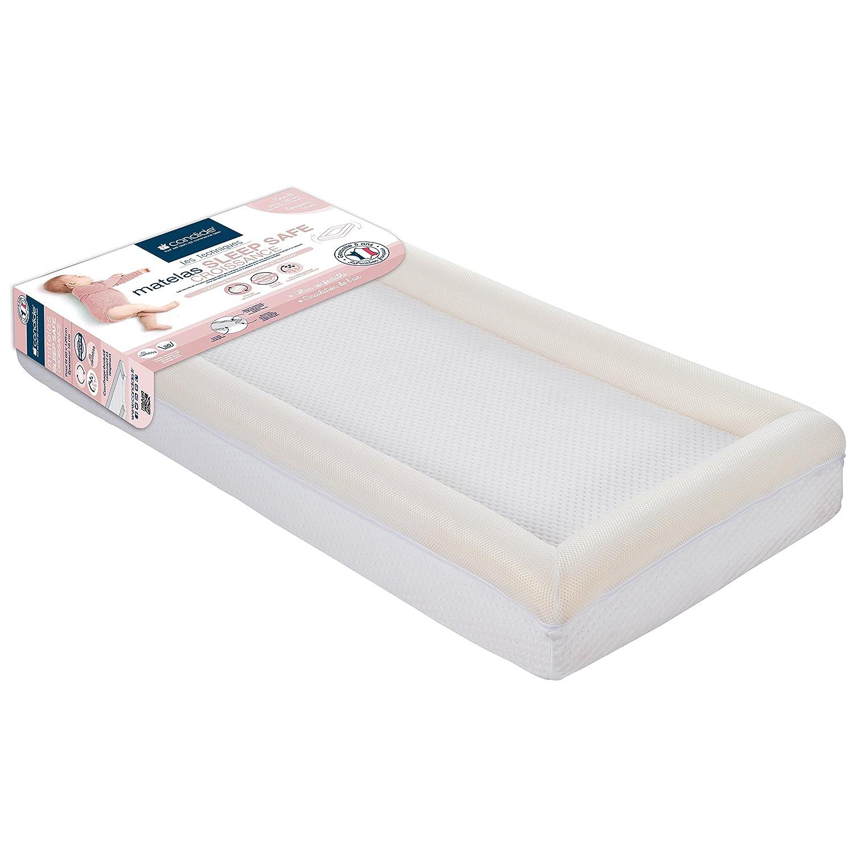 candide Sleep Safe Croissance Matelas Déhoussable pour Lit 60 x 120