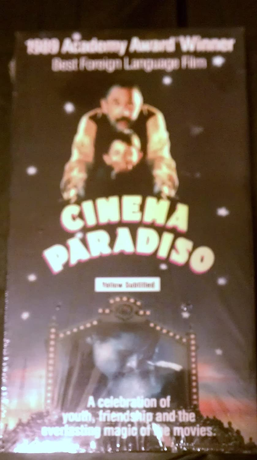 Amazon Com Cinema Paradiso Dubbed 1989 Academy Award Winner Philippe Noiret Jacques Perrin Movies Tv