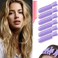 Volumizing Hair Root Clips for Girls Women Natural Fluffy Curler Hair Styling Tool DIY Hair Natural Roller Clamp Self…
