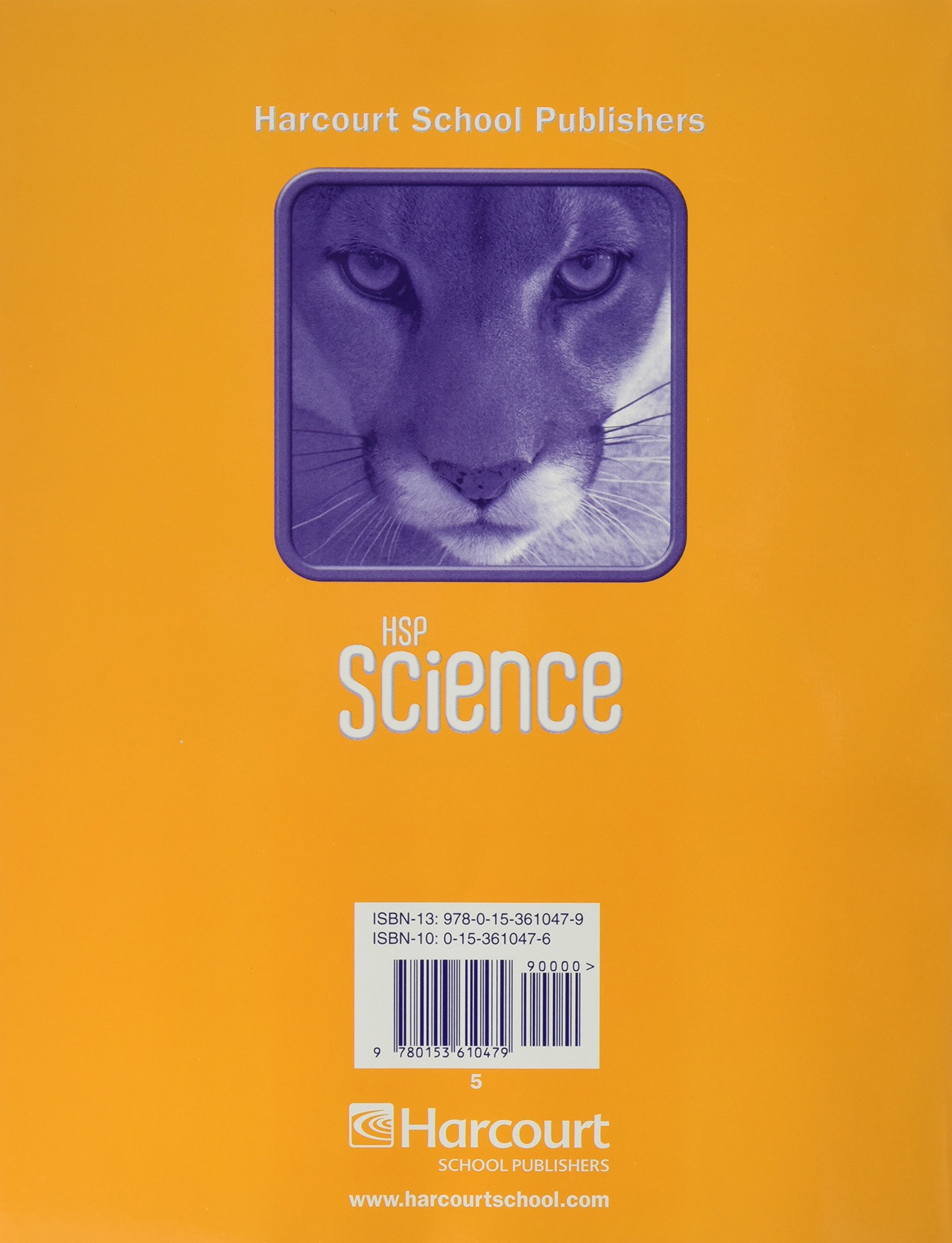 HSP Science © 2009: Assessment Guide Grade 5: Harcourt: 9780153610479:  Amazon.com: Books