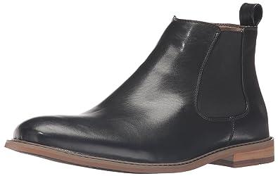 Deer Stags Men's Tribeca Ankle Bootie, Black, ...
