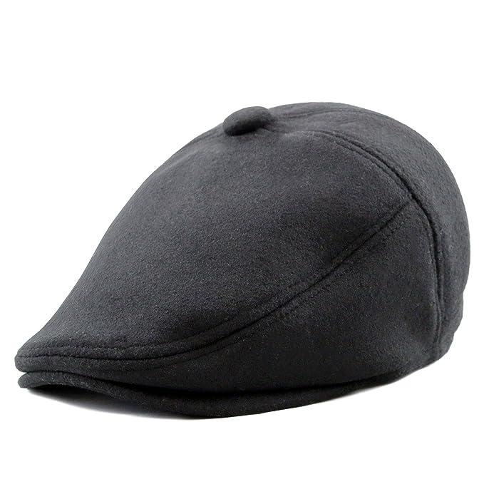 d37d67a9d5212 THE HAT DEPOT 300N2101 Melton Wool Driver Cabbie Ivy Style Hat-4colors (S