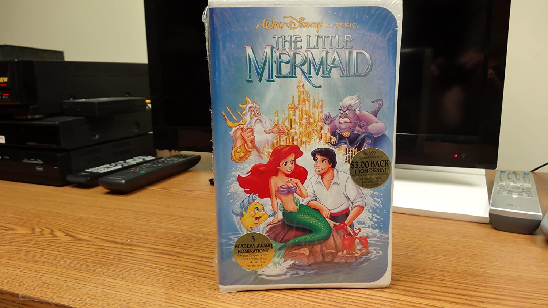amazon com the little mermaid a walt disney classic vhs ron