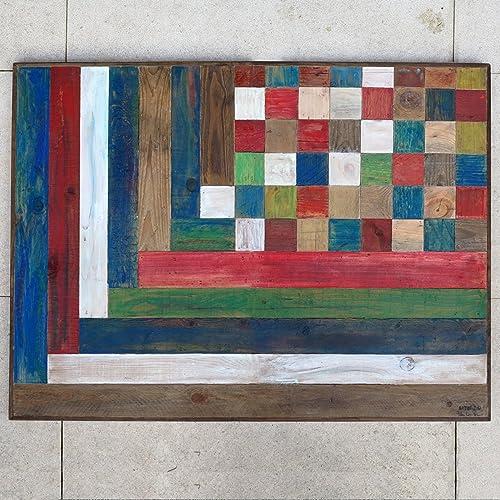 Reclaimed Wood Art A 333 Holz Wand Kunst Zurückgefordert Holz