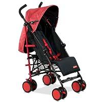 Fisher-Price Traveler Stroller Cum Pram - Red