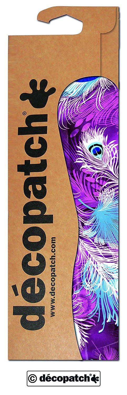 30 x 40 cm d/écopatch Purple Peacock Print Paper Pack of 3 Sheets