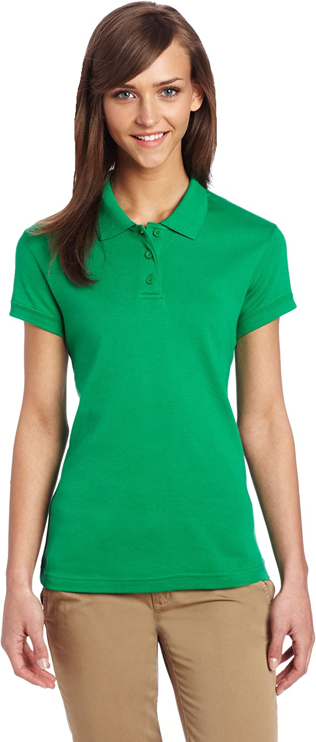 CLASSROOM Juniors Short-Sleeve Fitted Polo Shirt