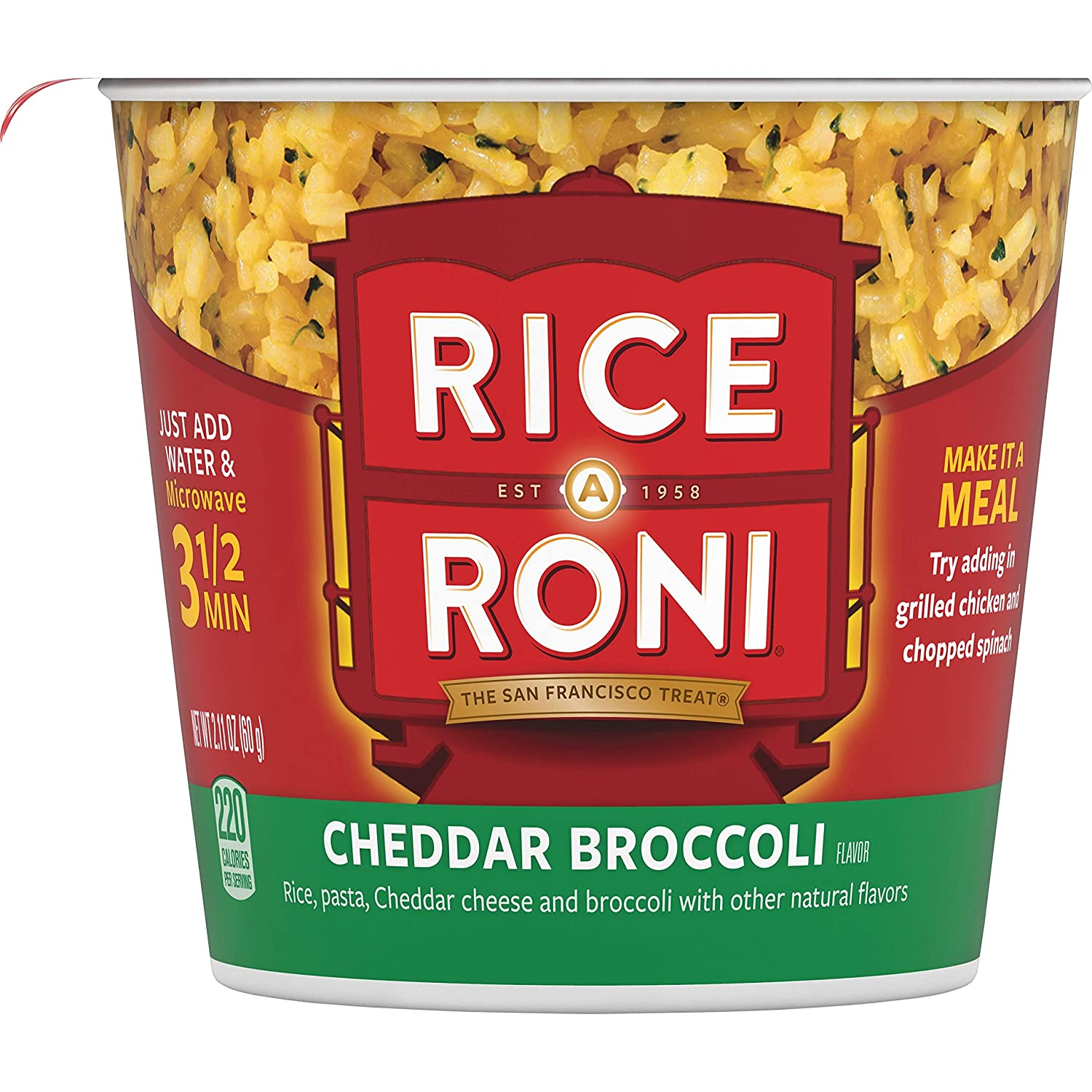 Rice a Roni Cups, Individual Cup 2.25 Ounce