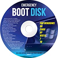 Ralix Windows Emergency Boot Disk - For Windows 98, 2000, XP, Vista, 7, 10 PC Repair DVD All in One Tool (Latest Version…