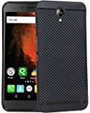 RSC POWER+ 360* Protection Premium Dotted Designed Soft Rubberised Back Case Cover For Micromax Canvas 6 Pro -Black