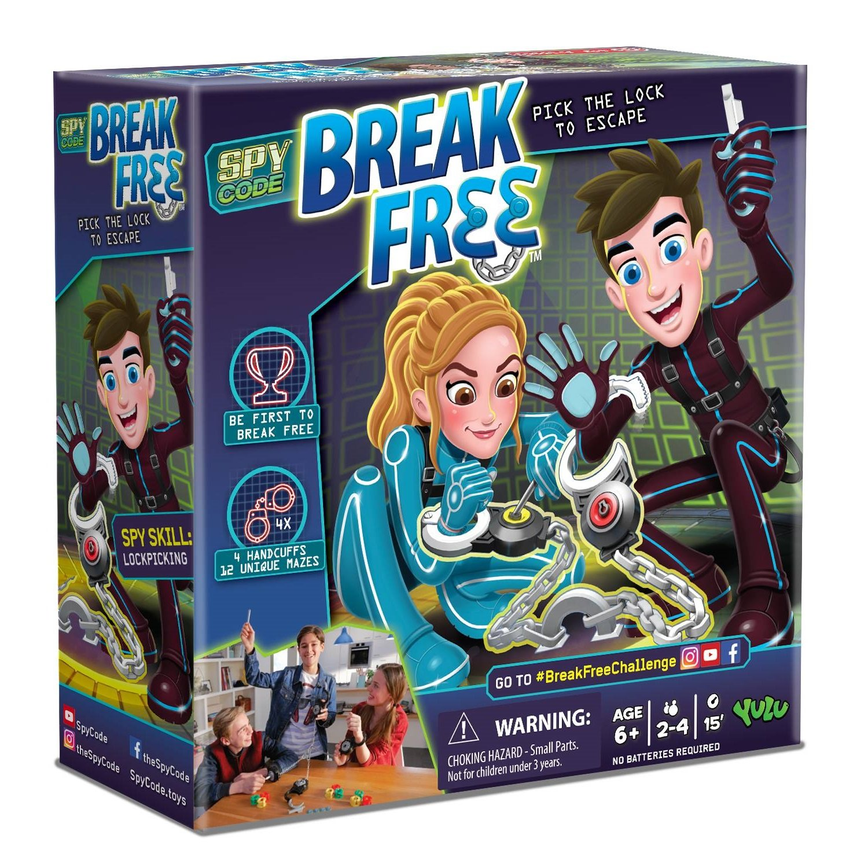 Amazon Yulu Spy Code Break Free 2 4 player Toys & Games