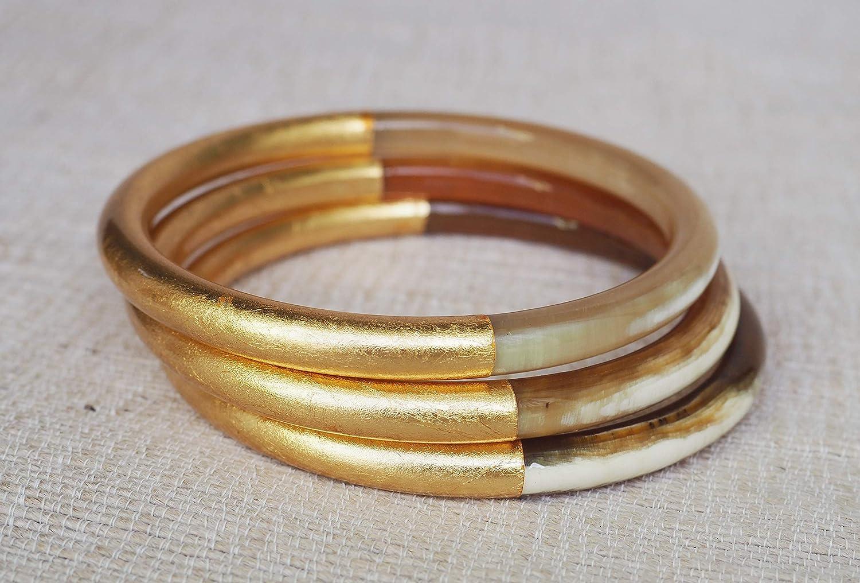 Q9328 Horn Bangle Bracelet