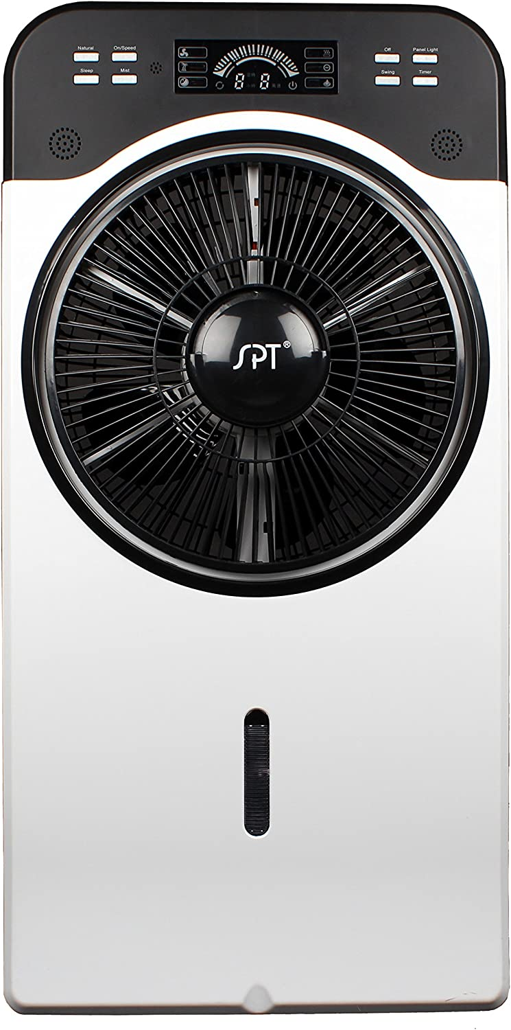 "SPT 14"" Indoor Misting Fan, Multi"