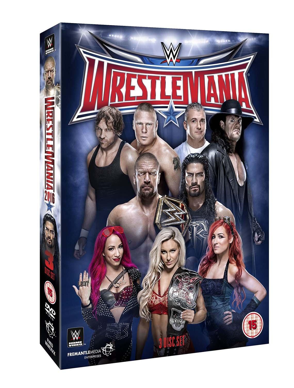 WWE: Wrestlemania 32 [Regions 32 Wrestlemania WWE: 2,5] B01DNYG6RA, タテシナマチ:87d99c66 --- ijpba.info