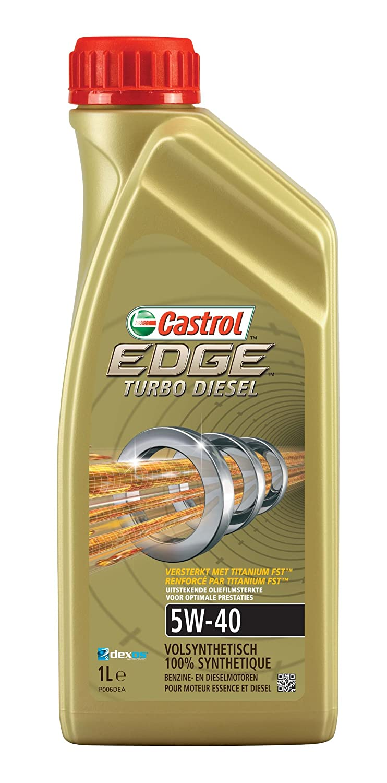 Castrol EDGE Turbo Diesel Aceite de motor 5W-40 1L: Amazon.es: Coche y moto