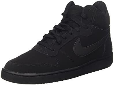 NIKE Court Borough Mid Winter Hommes Sneaker Gris doublé rPaRidD