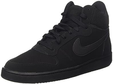 Nike Court Borough Mid, Baskets Hautes Homme: : Chaussures